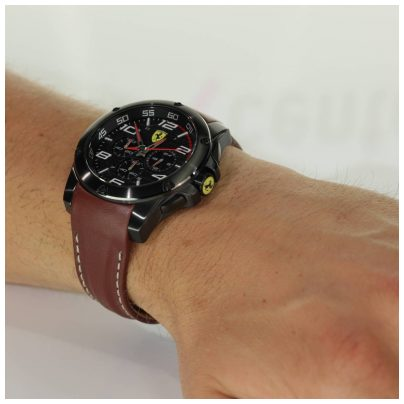 ferrari scuderia watch chronograph mens watch chrono. Black Bedroom Furniture Sets. Home Design Ideas