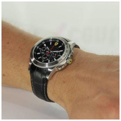 scuderia ferrari uhr chronograph herren armbanduhr chrono. Black Bedroom Furniture Sets. Home Design Ideas
