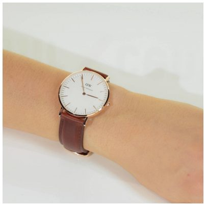 daniel wellington st mawes rosegold damen uhr 0507dw ebay. Black Bedroom Furniture Sets. Home Design Ideas