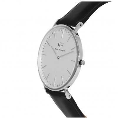 daniel wellington uhr sheffield silver herren uhr 0206dw. Black Bedroom Furniture Sets. Home Design Ideas