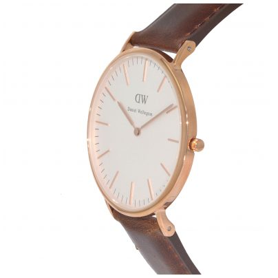 daniel wellington bristol rose gold damen uhr 0511dw ebay. Black Bedroom Furniture Sets. Home Design Ideas