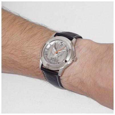 harley davidson uhr armbanduhr f r herren 76a12 ebay. Black Bedroom Furniture Sets. Home Design Ideas