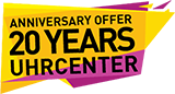 Anniversary Offer 20 Years uhrcenter