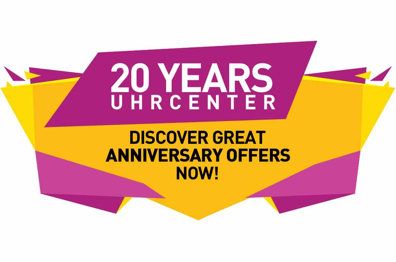 20 Jahre uhrcenter