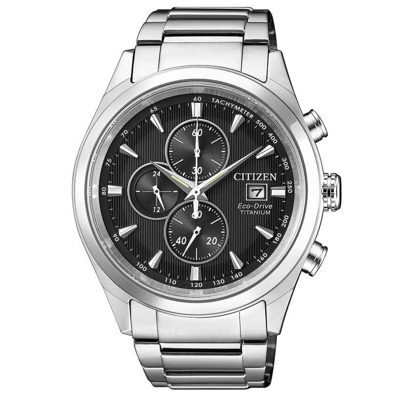 Citizen CA0650-82F Herrenuhr Chronograph Eco-Drive Super Titanium 4974374268594