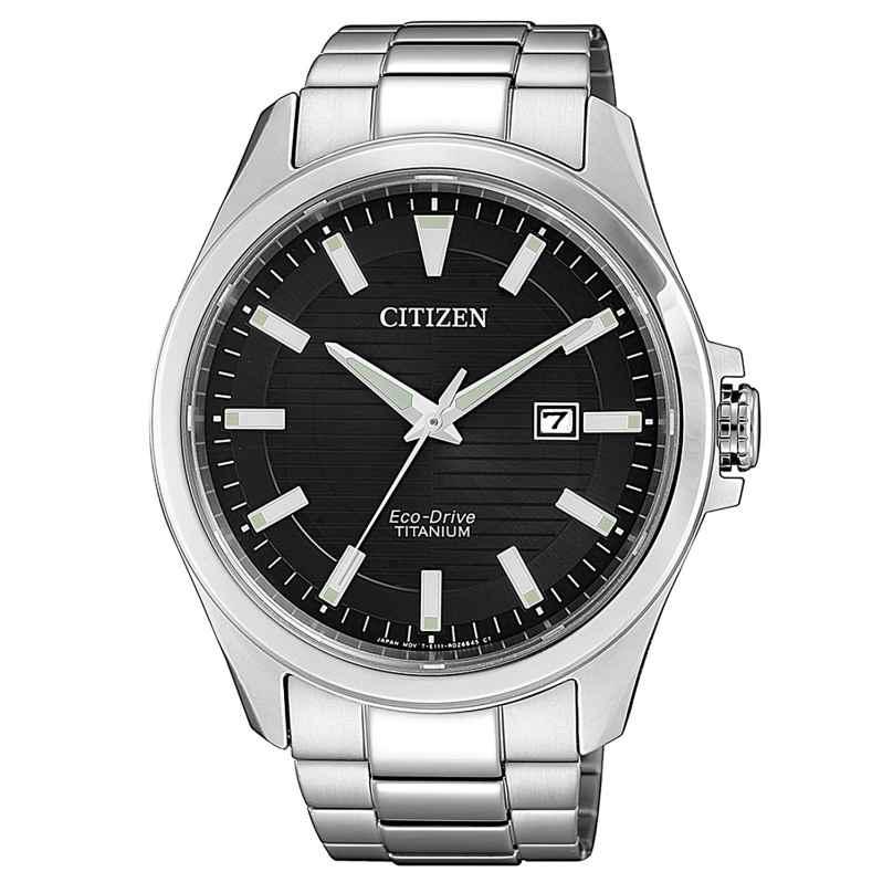 Citizen BM7470-84E Herren-Armbanduhr Eco-Drive Titan 4974374288165