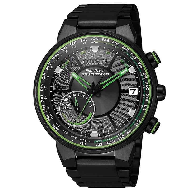 Citizen CC3075-80E Men's Watch Eco-Drive Satellite Wave 4974374289698