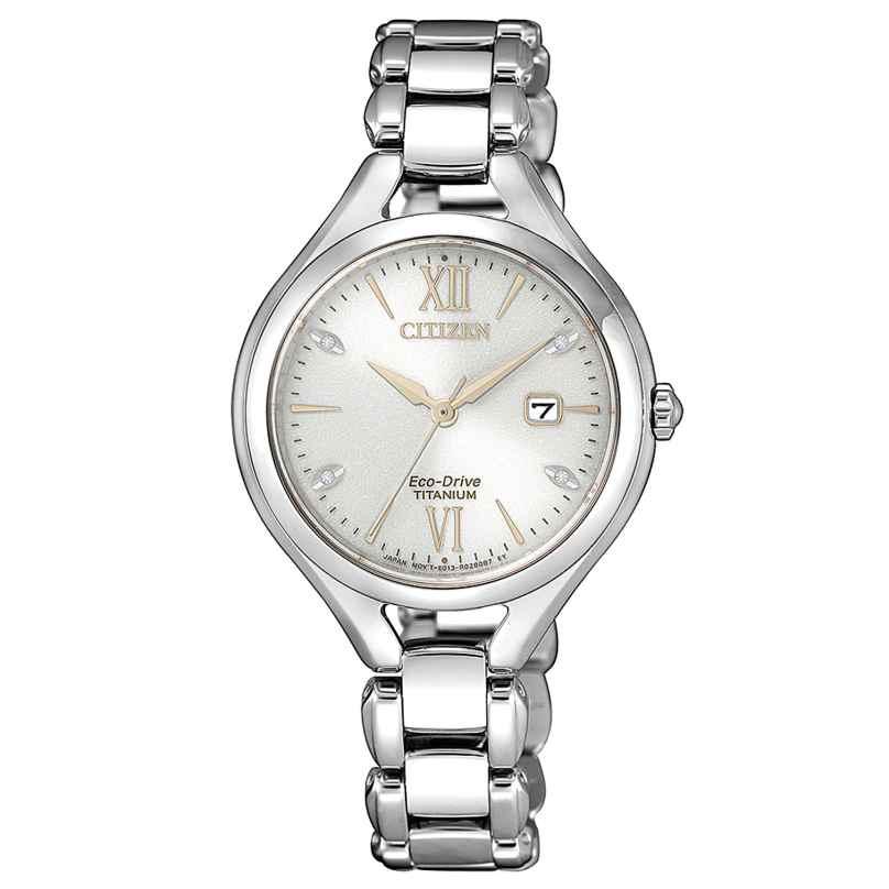 Citizen EW2560-86A Damen-Armbanduhr Eco-Drive Titan 4974374291448