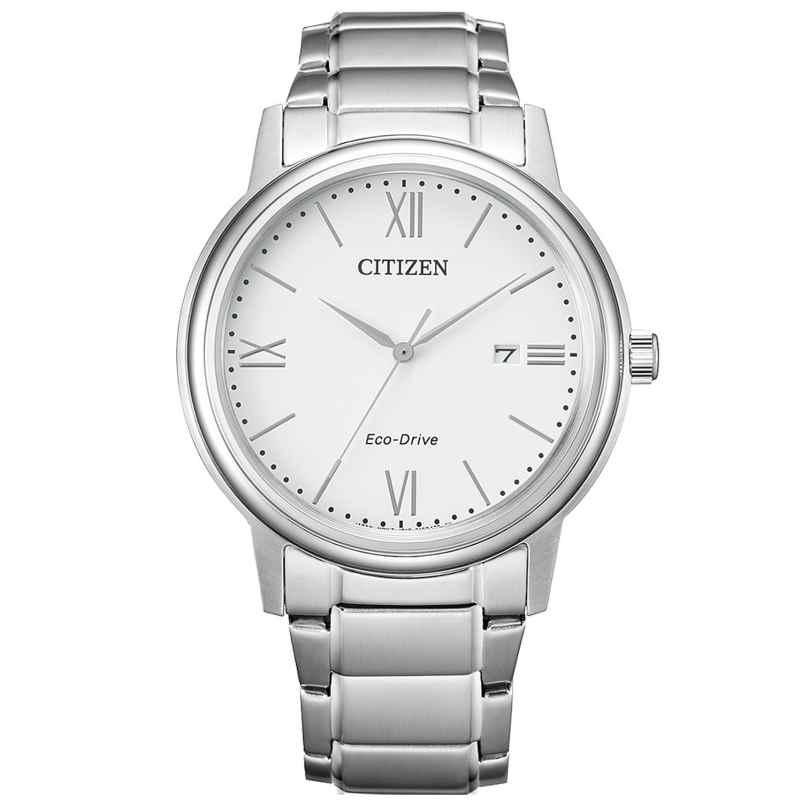 Citizen AW1670-82A Eco-Drive Herrenuhr Solar Weiß 4974374299390