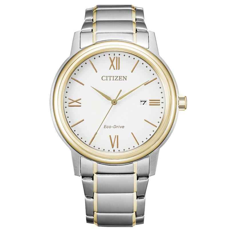 Citizen AW1676-86A Eco-Drive Herrenuhr Solar Bicolor 4974374299420