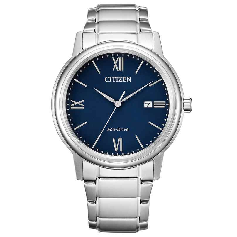 Citizen AW1670-82L Eco-Drive Men's Wristwatch Solar Blue 4974374299413