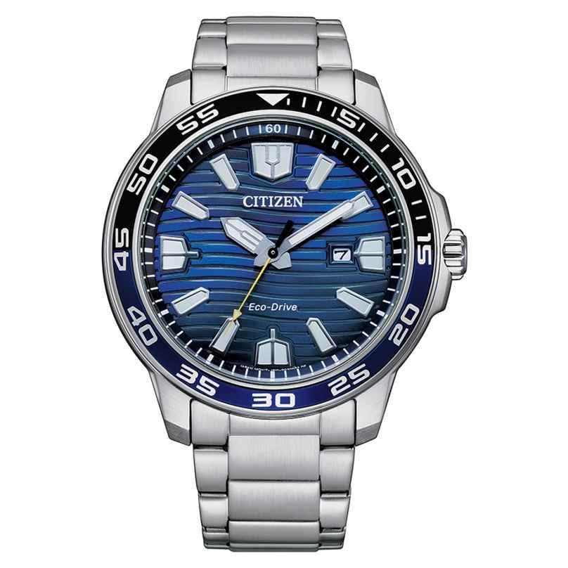 Citizen AW1525-81L Eco-Drive Solar Herrenuhr Blau 4974374303998