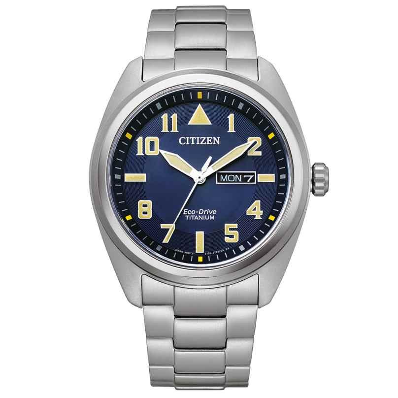 Citizen BM8560-88LE Eco-Drive Herrenuhr Titan Blau 4974374305671