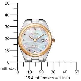 Citizen EW2606-87Y Eco-Drive Women's Watch Titanium Two-Colour