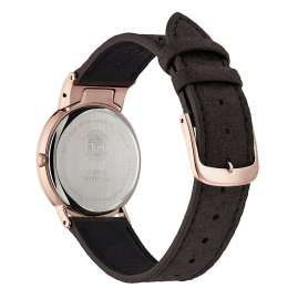 Citizen EG7072-19X Eco-Drive Ladies Watch Titanium Rose Gold Tone