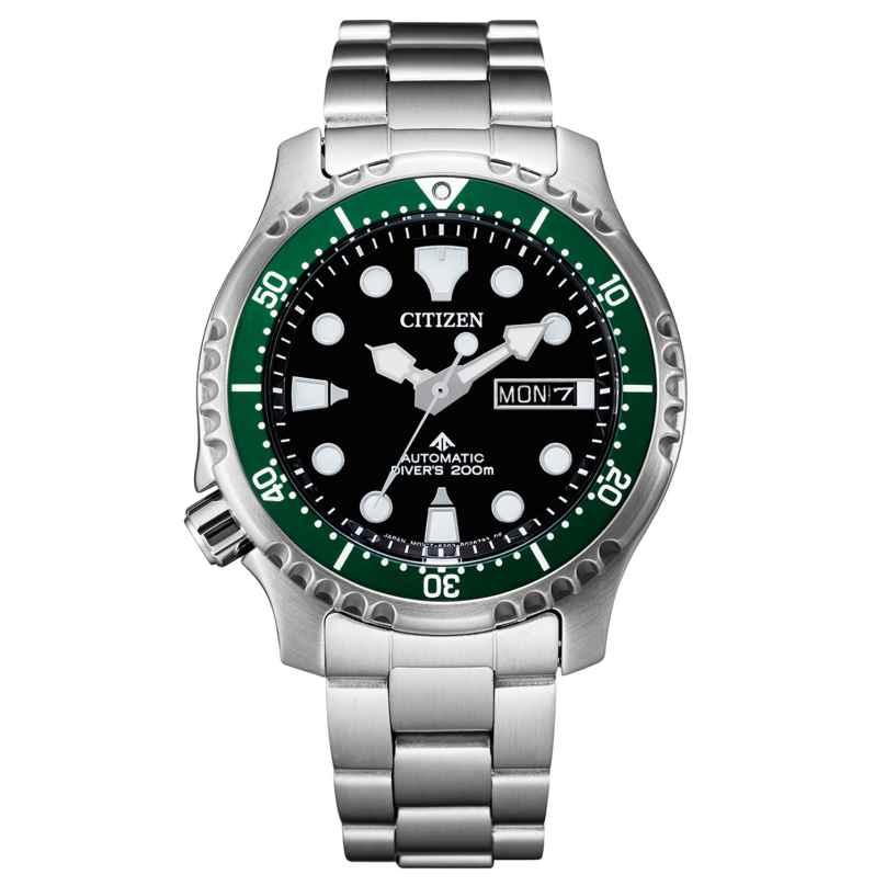 Citizen NY0084-89E Promaster Automatic Diver Men's Watch Black / Green 4974374298201