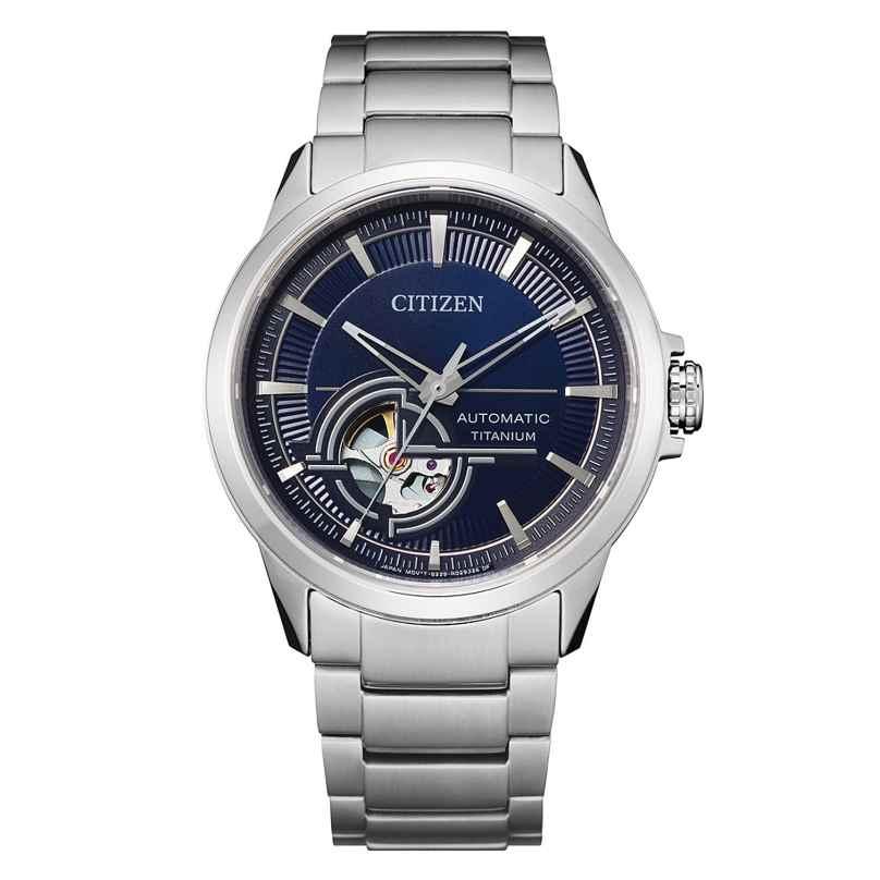 Citizen NH9120-88L Herren-Automatikuhr Titan Blau 4974374299550