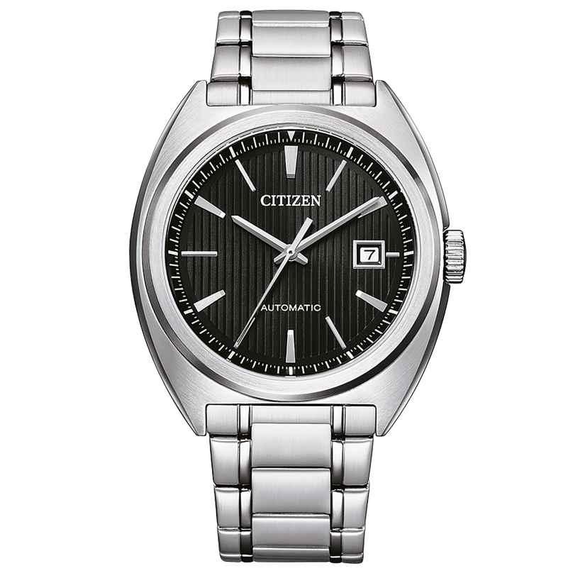 Citizen NJ0100-71E Herren-Armbanduhr Automatik Stahl/Schwarz 4974374304612