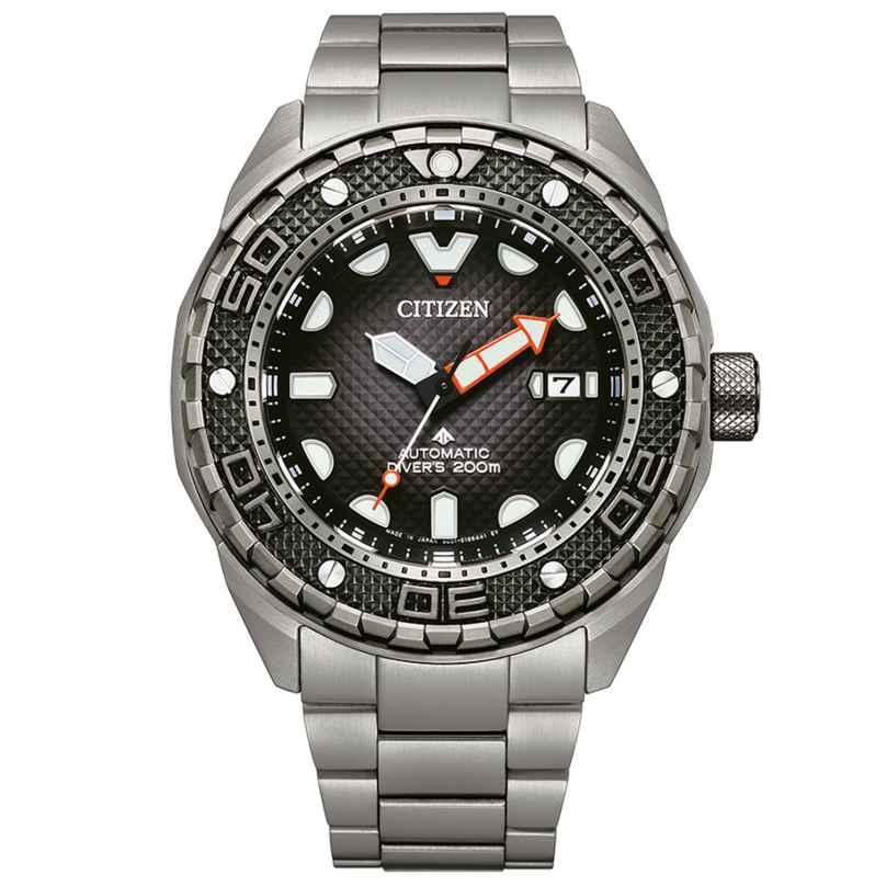 Citizen NB6004-83E Herren-Taucheruhr Automatik Titan 4974374305954