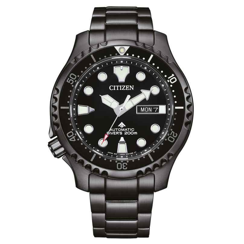 Citizen NY0145-86EE Promaster Marine Herren-Taucheruhr Automatik Schwarz 4974374308146
