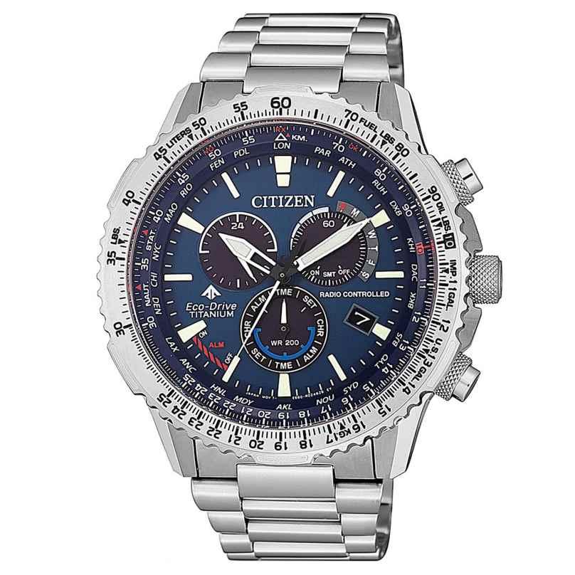Citizen CB5010-81L Promaster Sky Eco-Drive Men's Radio-Controlled Watch Titani 4974374280060