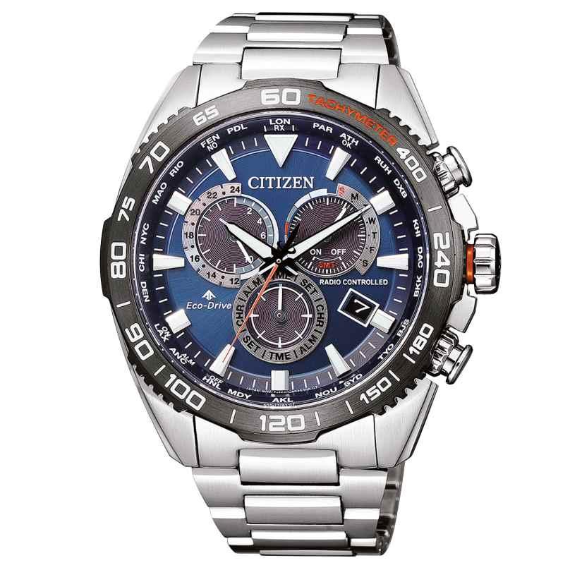Citizen CB5034-82L Promaster Land Herren-Funkuhr Eco-Drive 4974374283139