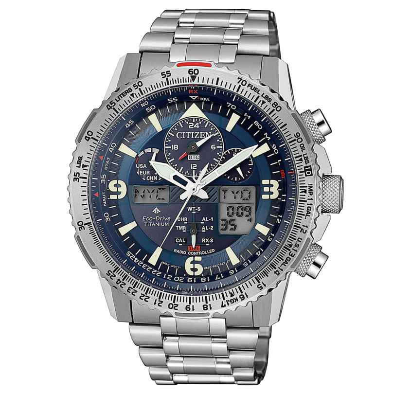 Citizen JY8100-80L Promaster Sky Radio-Controlled Men's Watch Eco-Drive 4974374291523