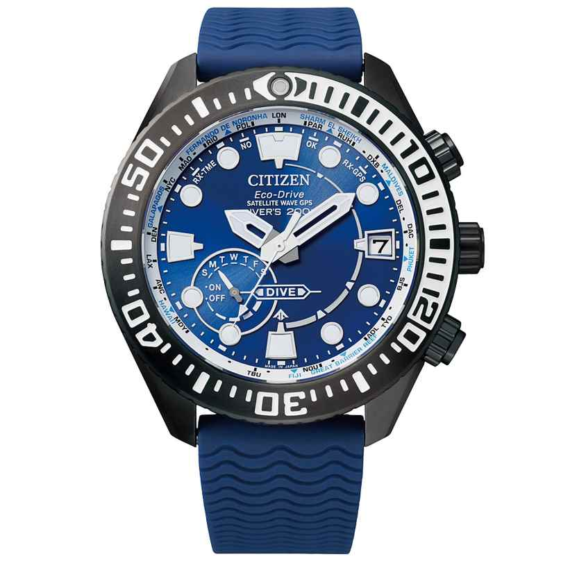 Citizen CC5006-06L Eco-Drive Herren-Taucheruhr Satellite Wave GPS 4974374298102