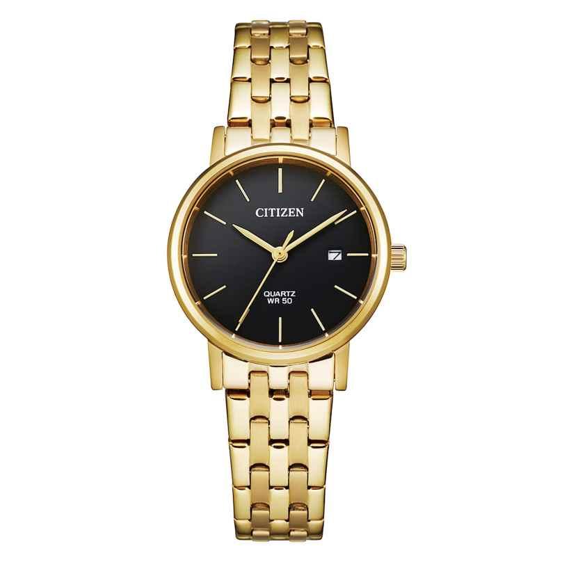 Citizen EU6092-59E Ladies' Watch Stainless Steel gold/black 4974374275547