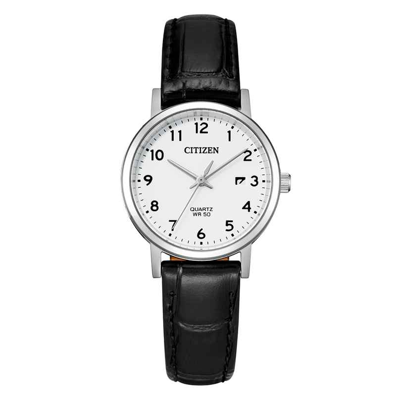Citizen EU6090-03A Damen-Armbanduhr mit Lederband 4974374302557