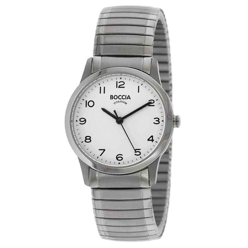 Boccia 3287-01 Titanium Ladies' Watch with Flex Bracelet 4040066248233