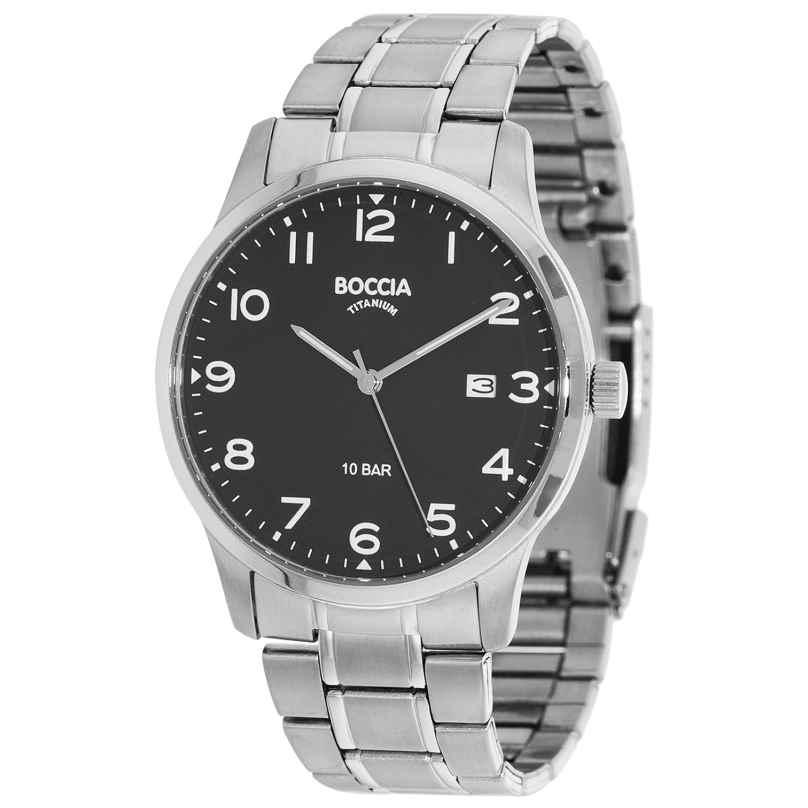 Boccia 3621-01 Titan Herrenarmbanduhr 4040066252841