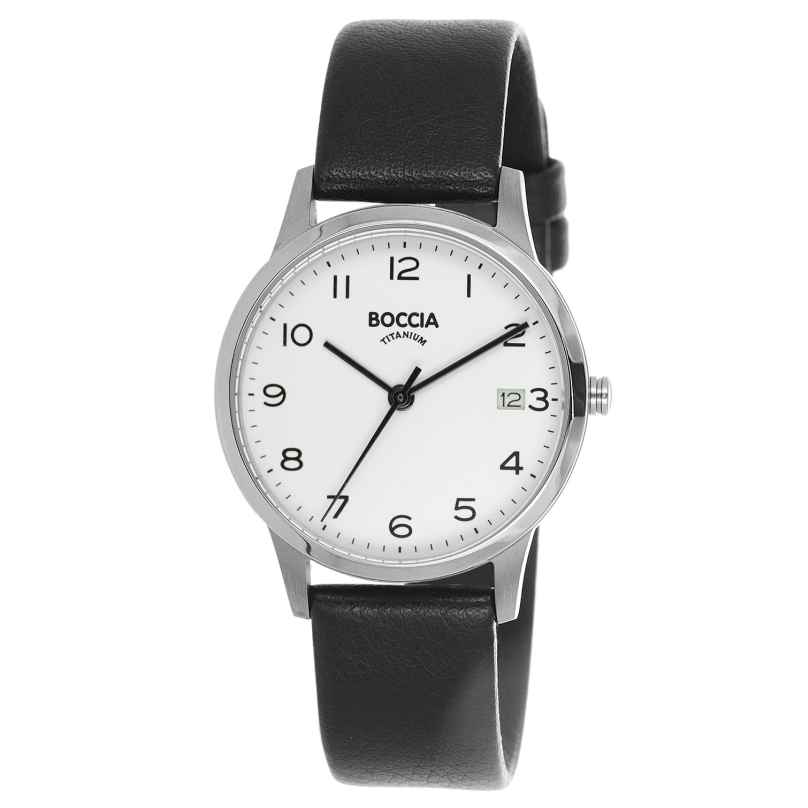 Boccia 3310-01 Titan-Armbanduhr für Damen 4040066256221
