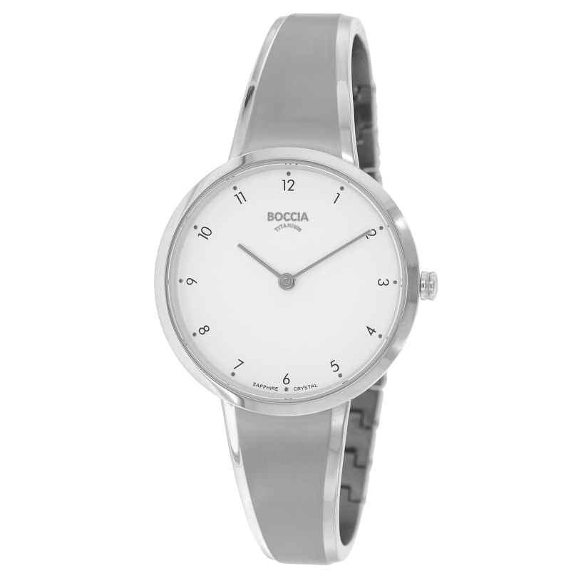 Boccia 3325-01 Damen-Armbanduhr Titan mit Saphirglas 4040066262765