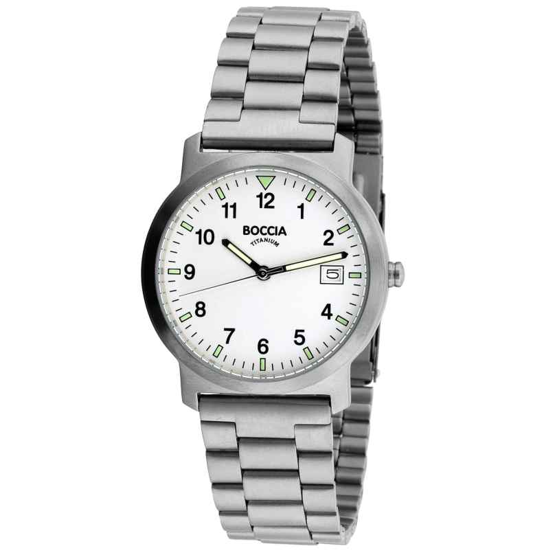 Boccia 3630-01 Titanium Gents Watch 4040066252629