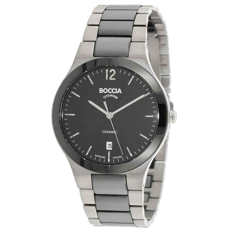 Boccia 3598-01 Titanium Mens Watch 4040066234380