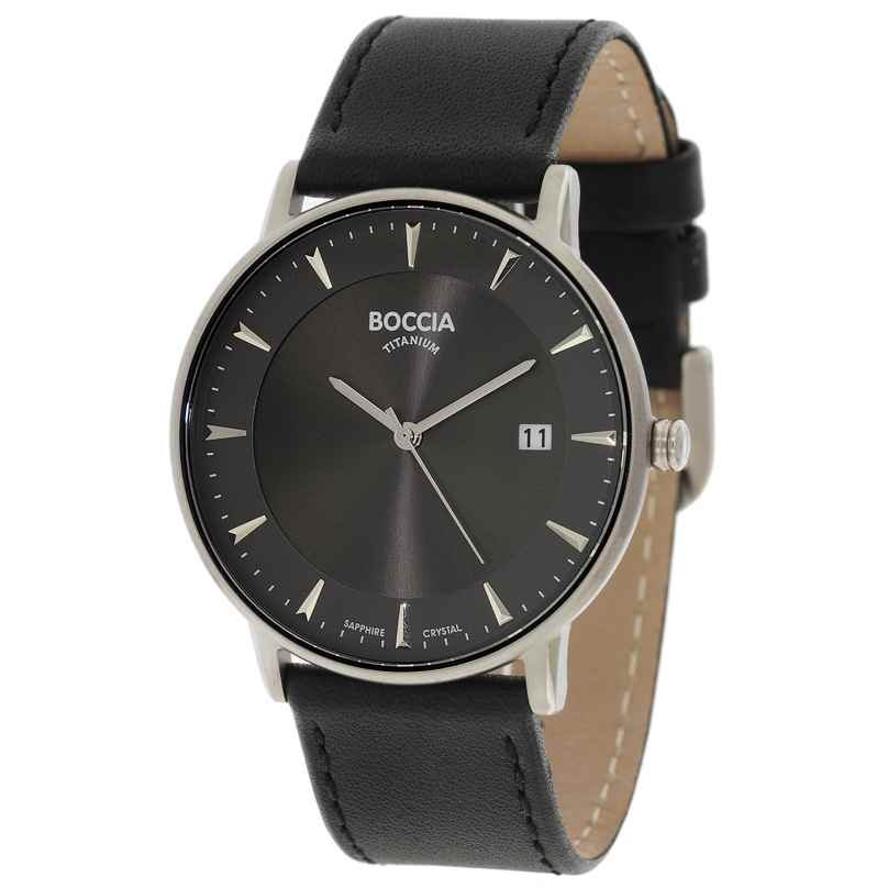 Boccia 3607-01 Titan Herren-Armbanduhr 4040066238593