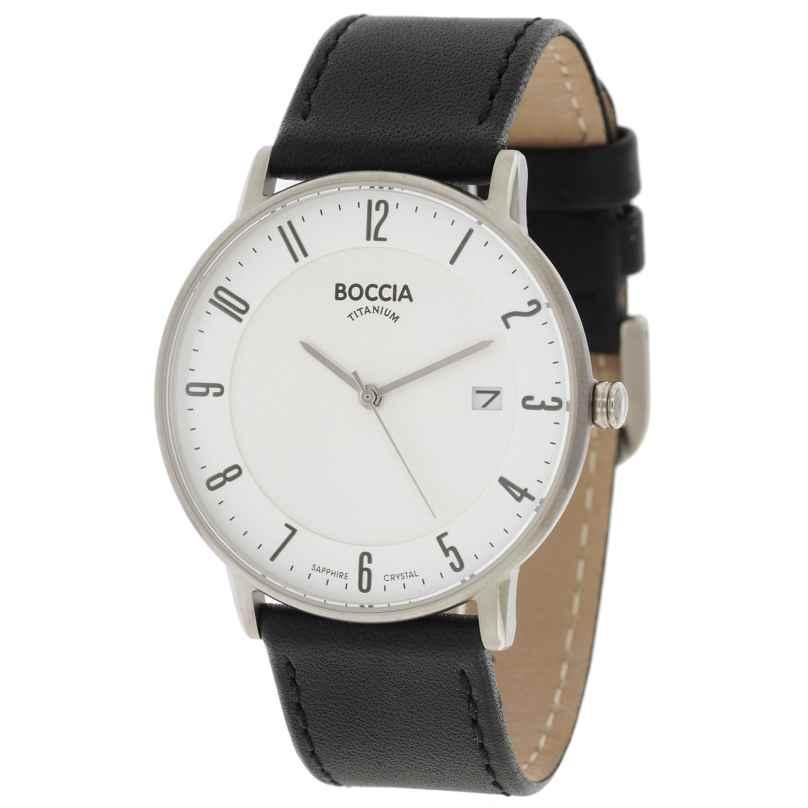 Boccia 3607-02 Herren-Armbanduhr 4040066238654
