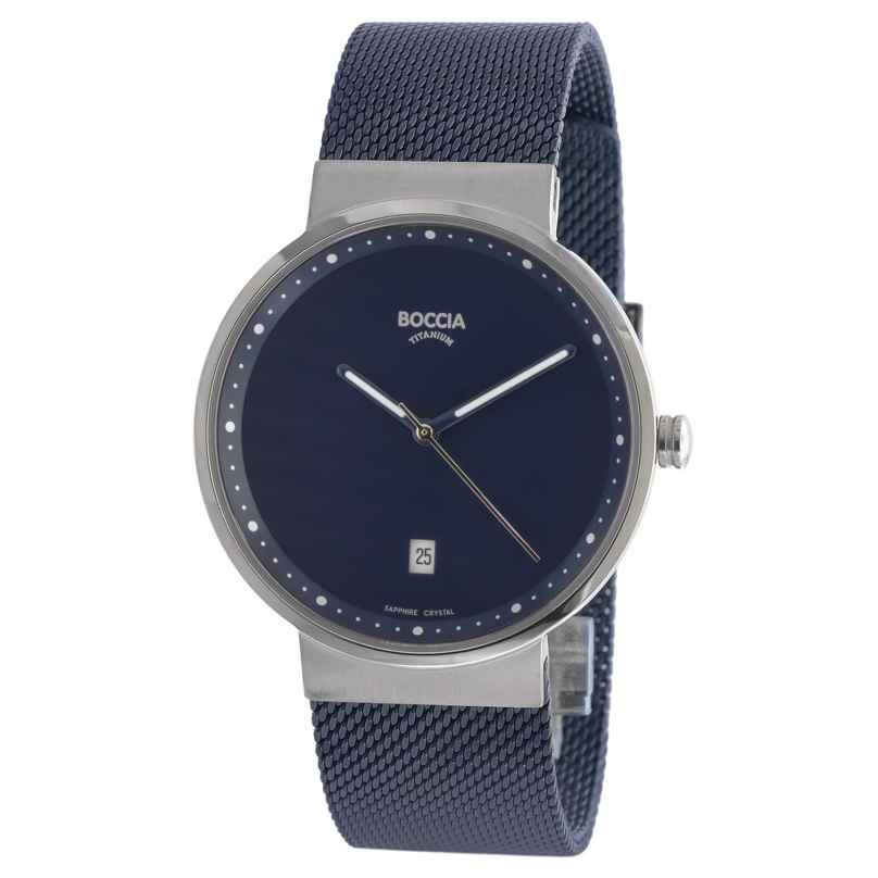 Boccia 3615-05 Titanium Wristwatch with Sapphire Crystal 4040066250809