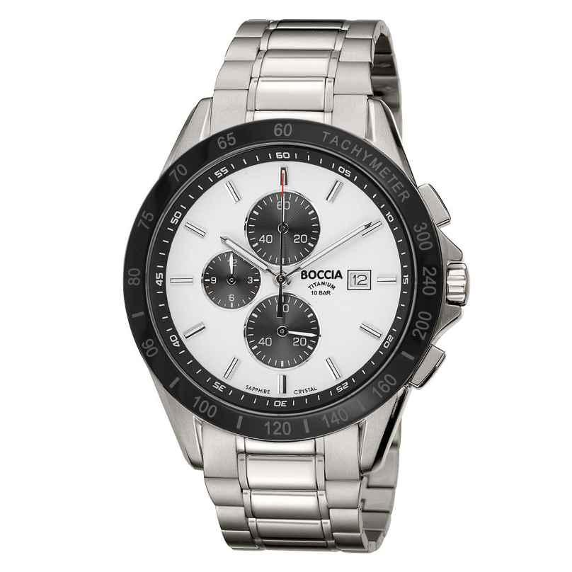 Boccia 3751-03 Titan-Herrenuhr Chronograph 4040066254487