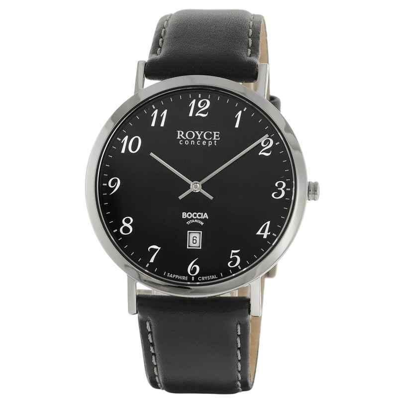 Boccia 3634-02 Titan-Herrenuhr Royce 4040066254524