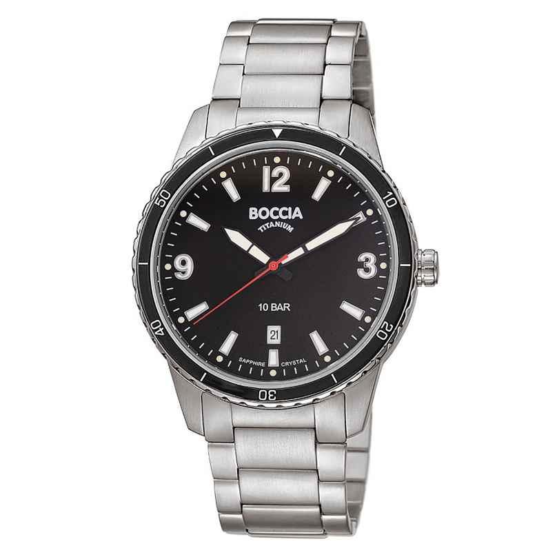 Boccia 3635-03 Herren-Armbanduhr Titan mit Saphirglas 4040066260532