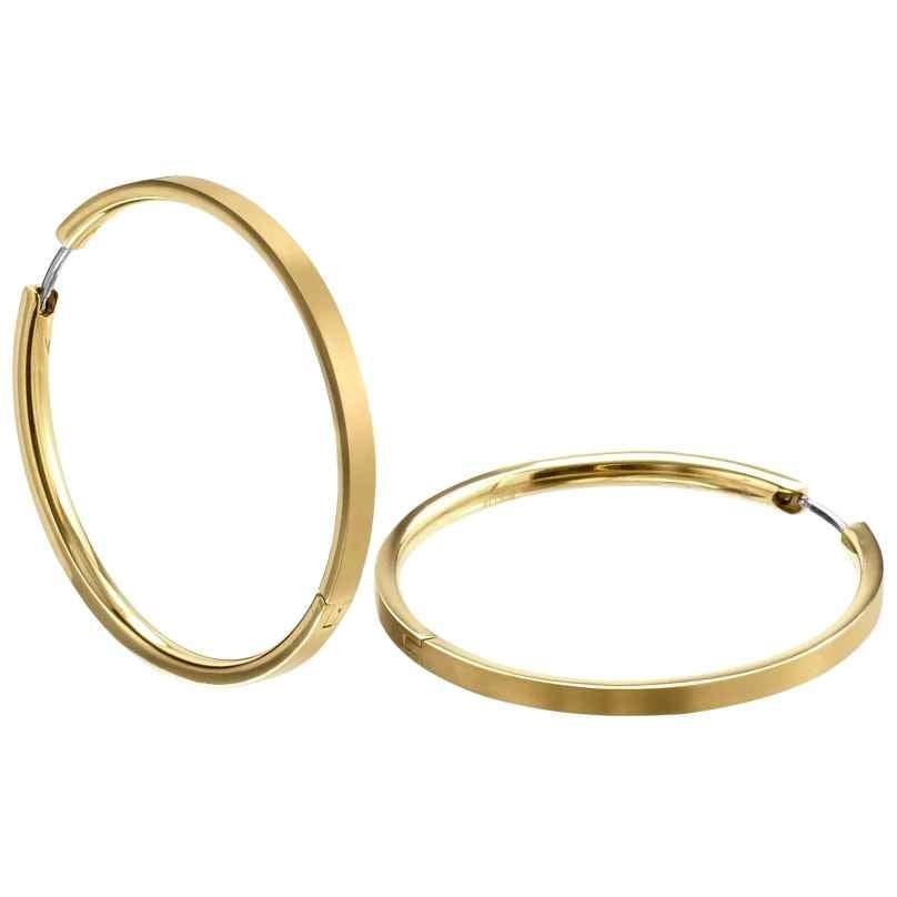Boccia 0508-09 Ladies Hoop Earrings Titanium gold-plated 4040066259109