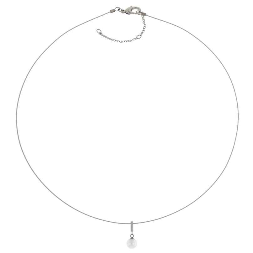 Boccia 08036-01 Women's Necklace Titanium Pearl Pendant 4040066259284