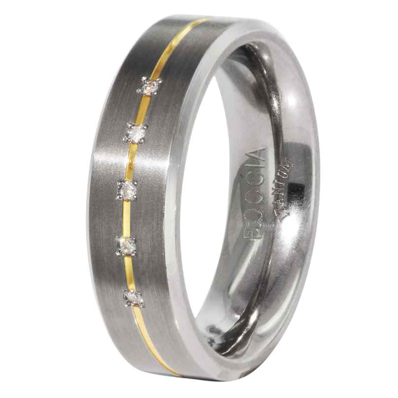 Boccia 0101-19 Titanium Damen-Ring