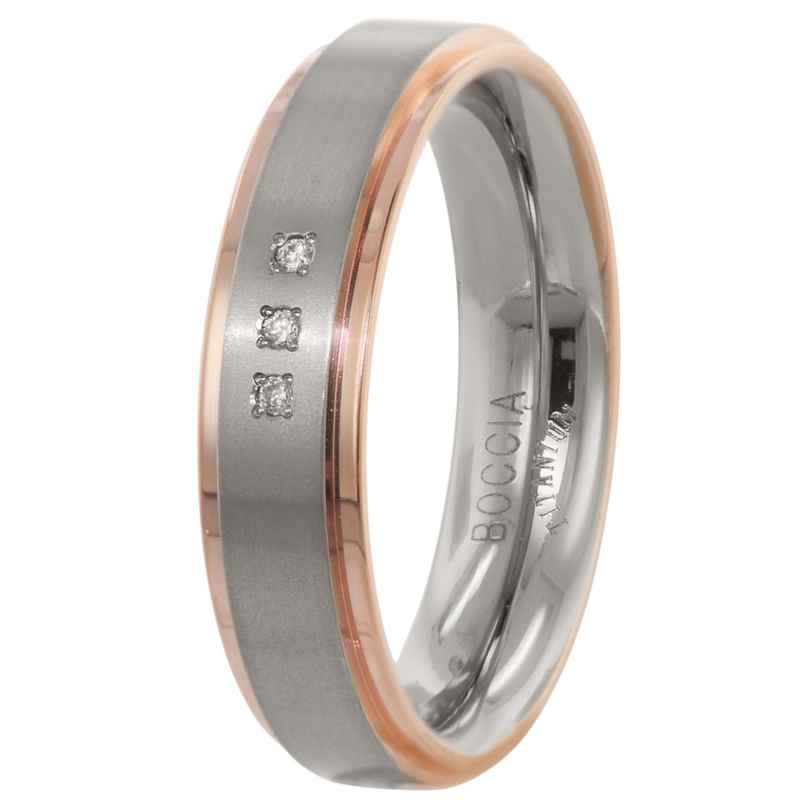 Boccia 0134-02 Ladies' Ring Titanium