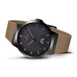 Junghans 018/1001.00 Radio-Controlled Solar Men's Watch Force Mega Solar Brown