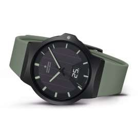 Junghans 018/1002.00 Radio-Controlled Solar Men's Watch Force Mega Solar Green