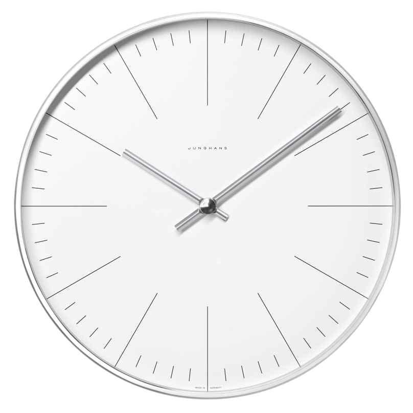 Junghans 374/7000.00 max bill Radio-Controlled Wall Clock 30 cm 4000897366285