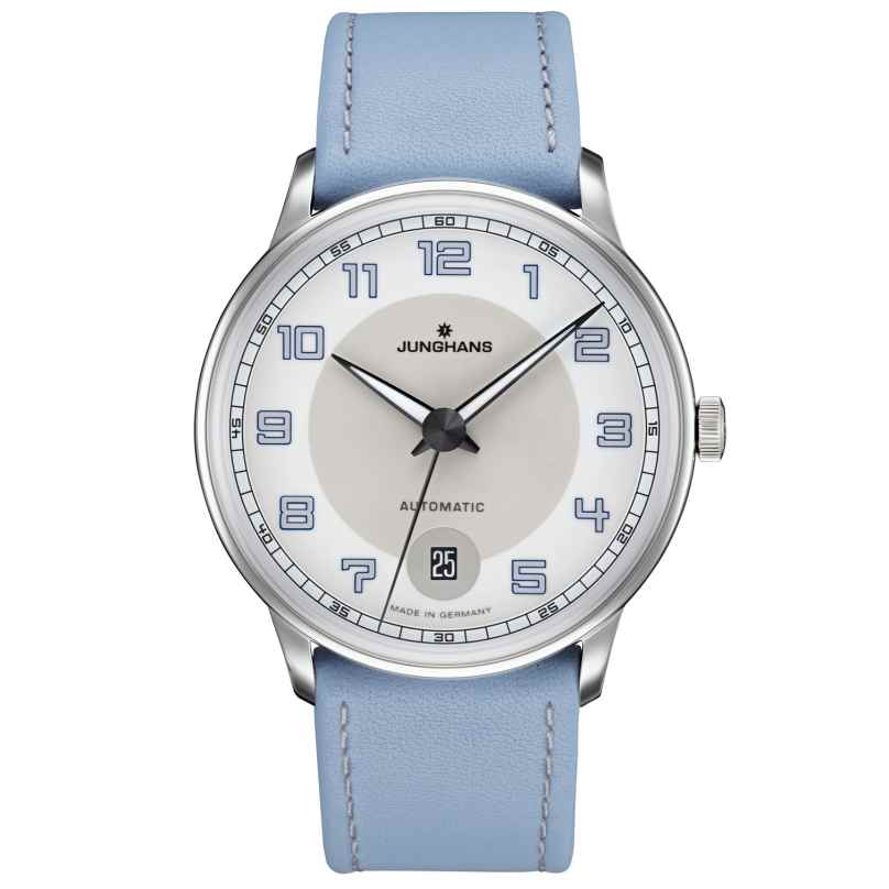 Junghans 027/4718.00 Ladies Watch Meister Driver Automatic Blue 4000897390792